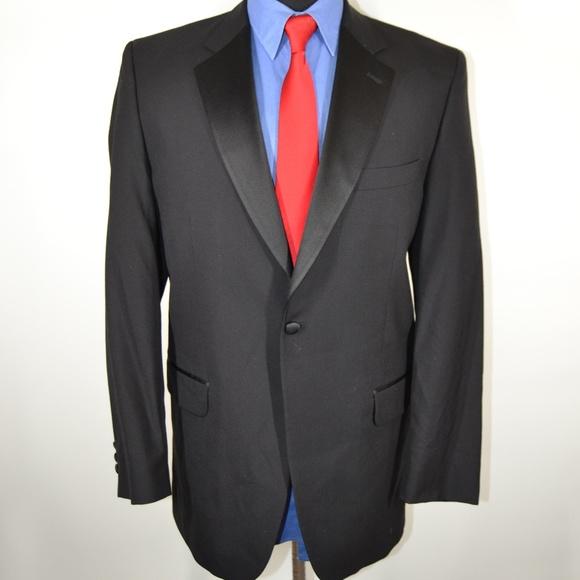 Fumagalli Other - Fumagalli Uomo 40R Tuxedo Jacket Black Wool